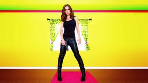 Eliza Dushku With another weapon Dollhouse wallpaper