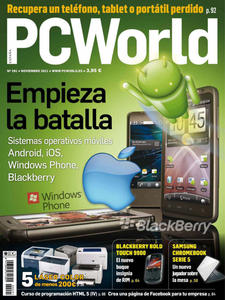 Revista: PC World [España] - Noviembre 2011 [PDF | Español | 38.22 MB]