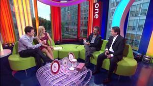 Gabby Logan | One Show 10-8-10 | Legs/Uppie | HD 1080i