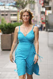 "Rachel Hunter After an Interview to Promote ""Find Your Slim"" Campaign, 6/22, 4 HQ"