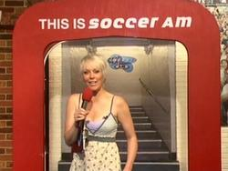 Helen Chamberlain - Slight Pokies/Cleavage - Soccer AM