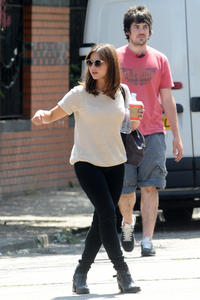Jenna Louise Coleman Out & About In Cardiff 06-18-2014
