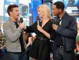 Charlize Theron at MTV's Total Request Live