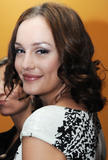 Leighton Meester at Gossip Girl press conference during the 2008 Telefilm Festival in Milan